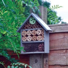 Natures Market HOTEL5 Wood Wooden Insect Hotel Home House Bees Bugs and Insects Nesting Box