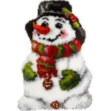 "Latch Hook Kit ""Snowman"" 52x38cm"