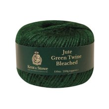 Kent & Stowe 70100825 Jute Twine Bleached Green 150m 250g