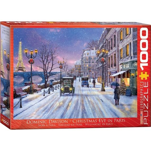 Eg60000785 - Eurographics Puzzle 1000 Pc - Christmas Eve in Paris