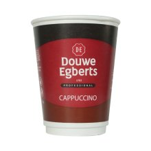 Douwe Egberts Cappuccino drink 2GO 12oz fresh seal incup X150 in cup drinks