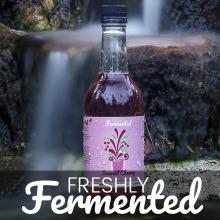 Certified Organic Soured Cherry Water Kefir Drinks