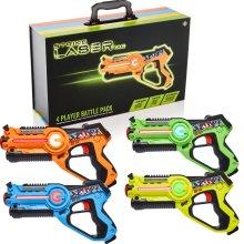 Strike Laser Tag 4 Player Pack