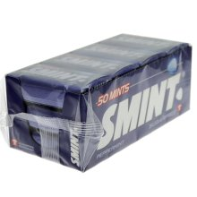Smint Mints Peppermint Pack of 12 x 35g)