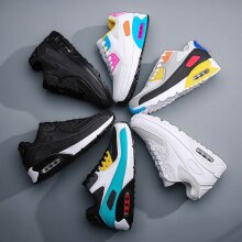 Men's Women's Trainers Air Cushion Running Sports Casual Shoes