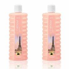 2 x Avon bubble baths - Romantic l amour - 500ml each