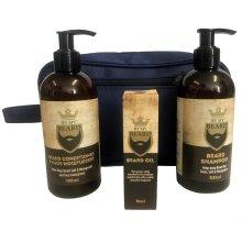 By My Beard Gift Set   Conditioner, Oil, Shampoo & Moisturiser
