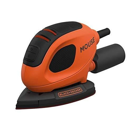 Black+Decker BEW230-GB Detail Mouse Sander, 55 W