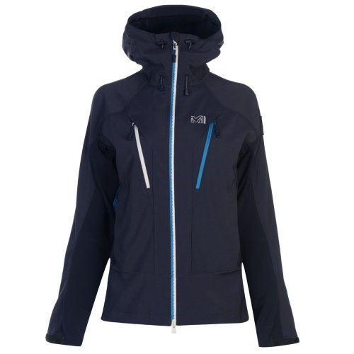 Millet Trail Storm Jacket Womens Blue Outdoor Top Ladies Outerwear UK 12 (Medium)