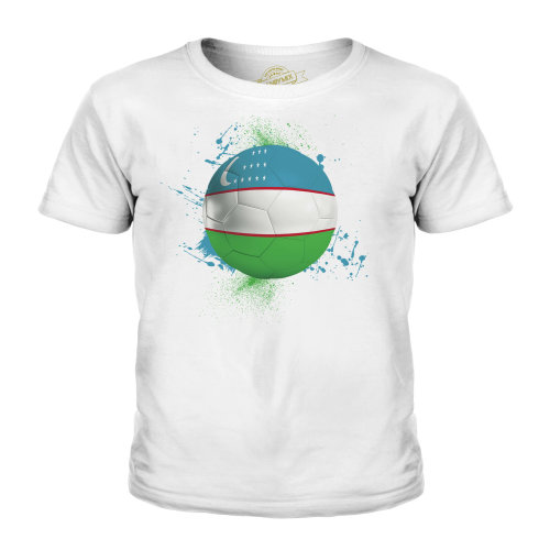 Candymix - Uzbekistan Football - Unisex Kid's T-Shirt