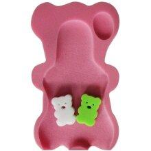 3 Colors Sponge Baby Bath Mat Non-Slip Sponge Mat Anti-Skid Bathtub Infant Bath Pad Newborn Seat for Baby Care