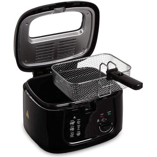 2.5L Electric Deep Fat Chip Fryer Non Stick Pan 1800W Kitchen