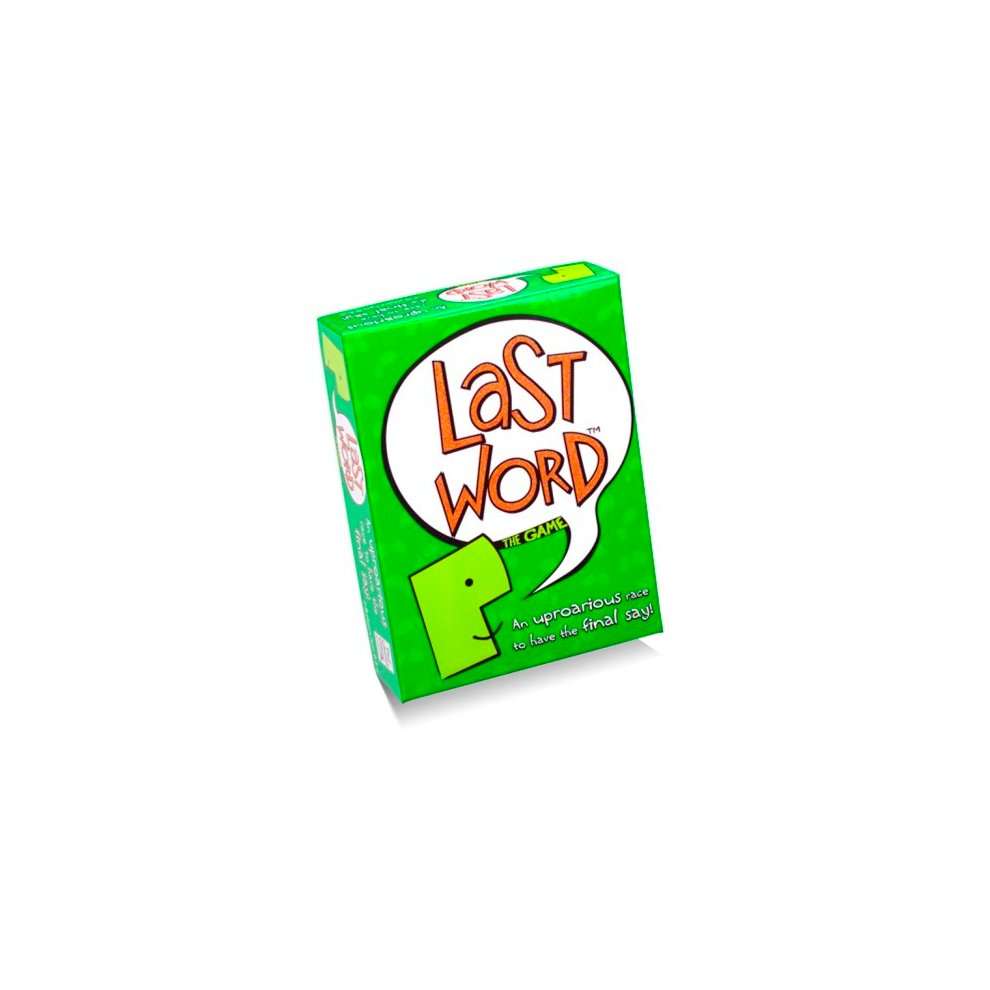 The Last Word Buzzer Game - Paul Lamond Family Board -  word game last paul lamond family board