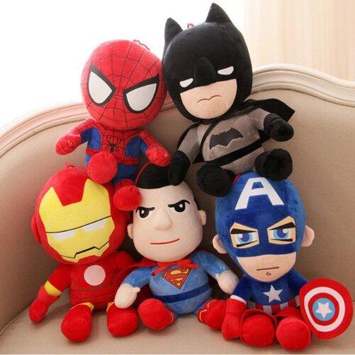 25CM The Avengers Plush Toy Soft Doll Kids Gift
