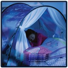 Kids Bed Dream Tents Foldable with LED Light
