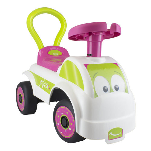 FUNBEE Girls My First Ride-On with Push Bar, Multi-colour (OFUN24-M)..