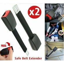 2Pcs Car Seat Belt Extender Extension Safety Buckle Clip Universal