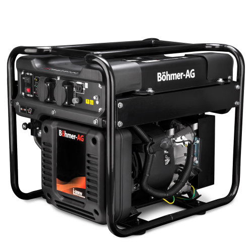 Bohmer-AG i-5000W Inverter Petrol Generator | 3KW 3.8kVA | Quiet Portable Power