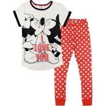 Womens Minnie Mouse Pyjamas