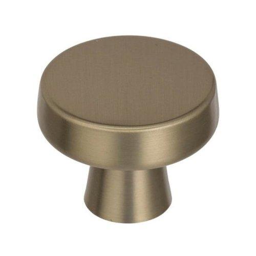 1.31 in. Blackrock Cabinet Knob - Golden Champagne