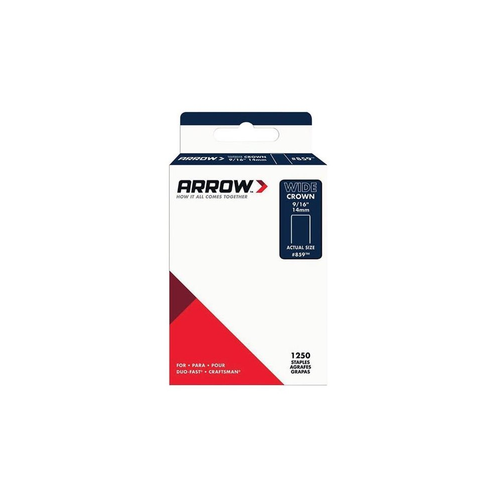 Black /& Decker X70506 Narrow Crown Staples 6mm Pack 1440