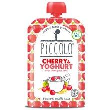 Piccolo  Cherry & Yoghurt With Wholegrain Oats 100g x 5