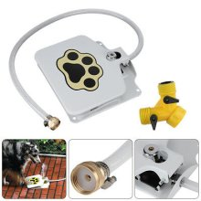 Pet Outdoor Encourage Drinking Activated Water Step Foot Pedal Fountain Spray