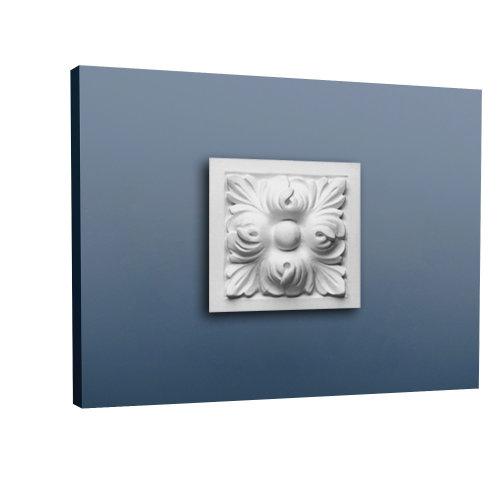 Orac Decor D210 LUXXUS Door Window frame Decoration Element of stucco | 9 x 9 cm