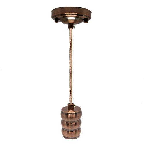 Vintage Hanging Pendant Ceiling Light, Vintage Lamp Holder Kit