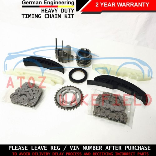 FOR BMW 5 SERIES 525d UPPER LOWER TIMING CHAIN TENSIONER SPROCKETS GUIDES KIT