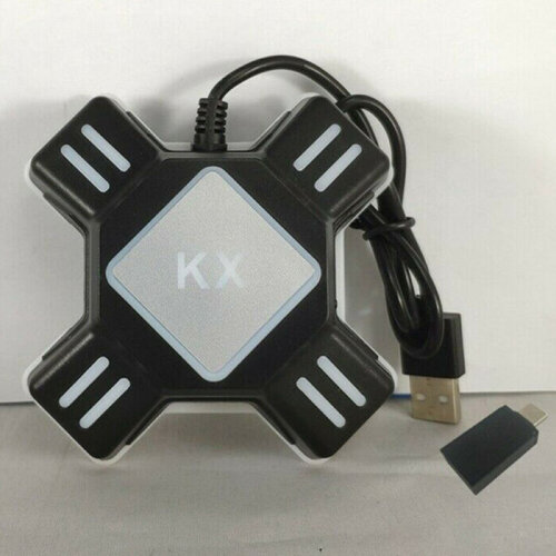 KX Mouse Keyboard Type-c Adapter Converter For Switch Xbox PS4 Game Gamepad