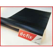 Black Leather Effect Self Adhesive Vinyl Contact Paper 1mtr x 45cm 200-1923