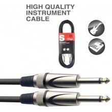 Stagg Sgc Deluxe Instrument Cable (6m/20ft) - Sgc6dl