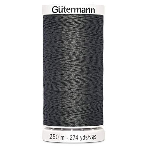 Gutermann Sew All Polyester Thread, 250Mtr, Smoke Grey (0702)