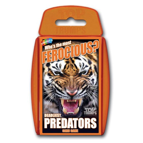 Deadliest Predators Top Trumps