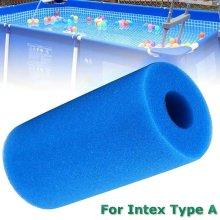 Reusable Washable Swimming Pool Filter Foam Sponge Cartridge For Intex Type A
