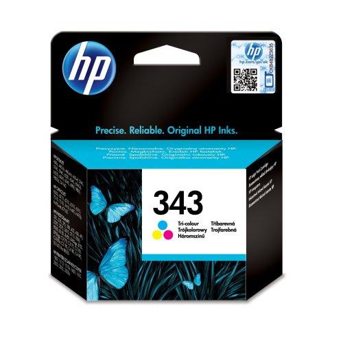 HP 343 Tri-color Original Ink Cartridge (C8766EE)