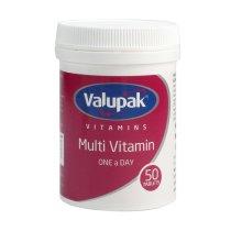 Valupak MultiVitamin 50 Tablet