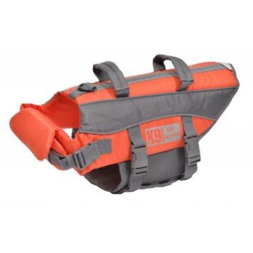 K9 Pursuits High Visibility Easy Grab Float Coat Life Jacket Large 68-81cm 25-39kg