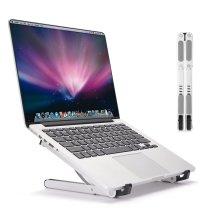 LONGKO Portable Laptop Stand Holder - Ergonomic Tray Holder Mount - Adjustable Multi-Angle Stand Ventilated Aluminum Tablet Holder - Light Weight...