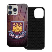 West Ham United FC Phone Cases Compatible with iPhone 12/ iPhone 12 Pro/ 12 Mini/ 12 Pro Max Glass Back Cover
