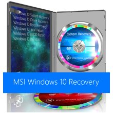 MSI Windows 10 System Recovery Restore Reinstall