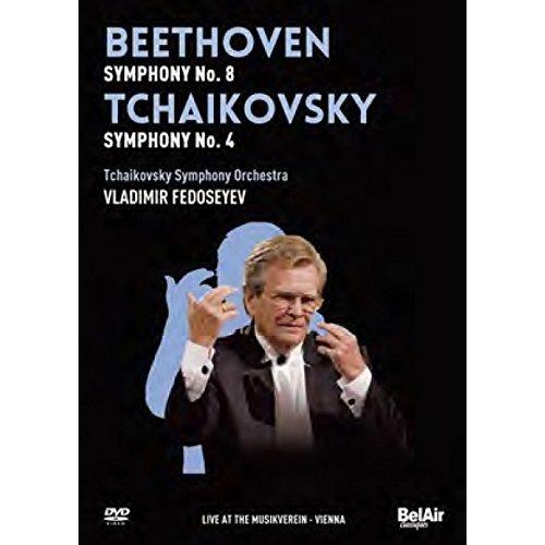 FEDOSEYEV/TCHAIKOVSKY SYMPHON - V 1: BEETHOVEN and TCHAIKOVSKY [DVD]