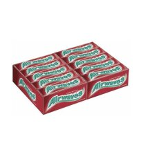 60 AIRWAVES CHERRY MENTHOL CHEWING GUM BEST BEFORE 06.05.2020 2 BOXES