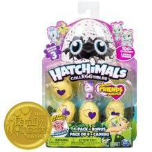 Hatchimals Colleggtibles Series 3 4 Pack & Bonus
