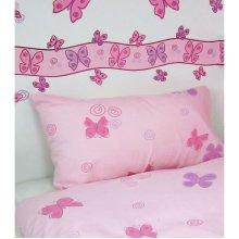 Butterflies Metallic Wallpaper Border