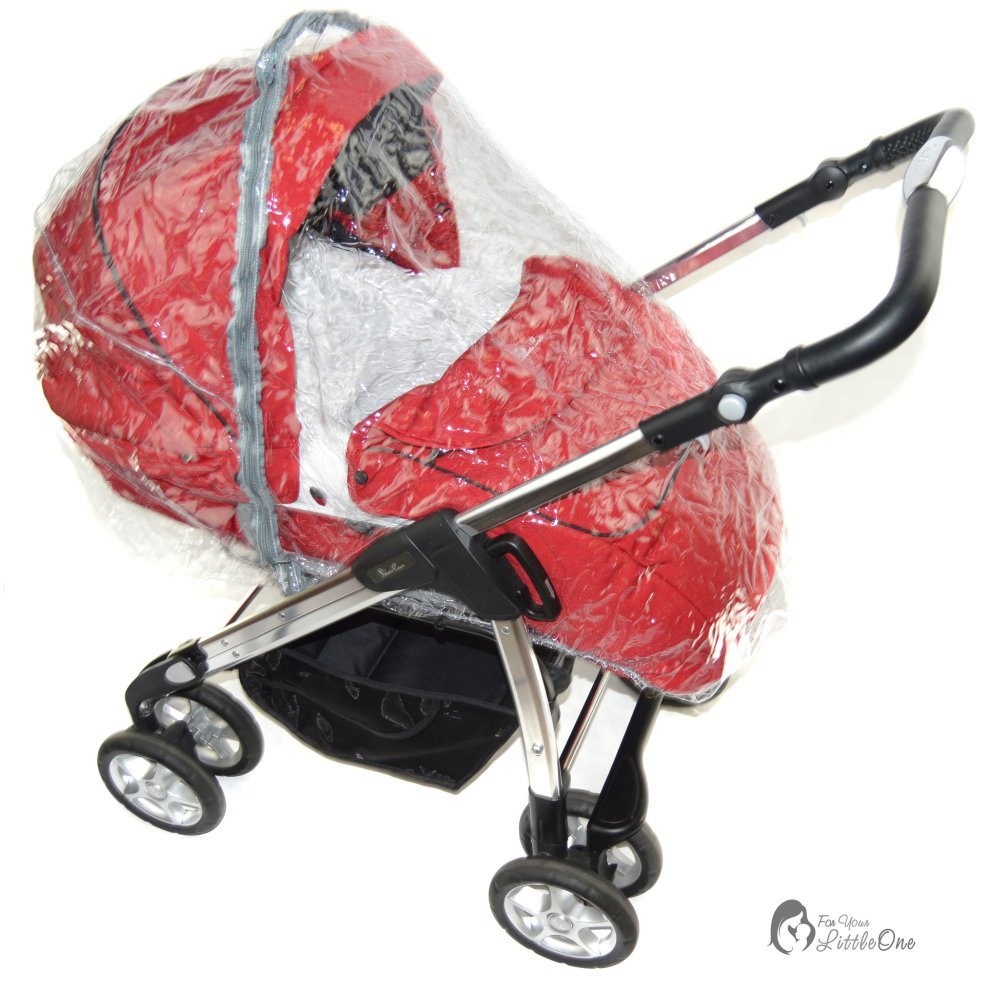 Raincover Bebecar Ip-Op Stylo Icon Grand Carrycot Ventilated 198