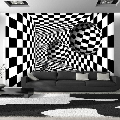 Wallpaper - Black & White Corridor