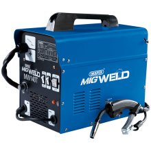 DRAPER 230V Gas/Gasless Turbo MIG Welder (130A) [71091]
