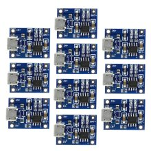 10Pcs TP4056 5V1A Micro USB Lithium Battery Power Charging Boards